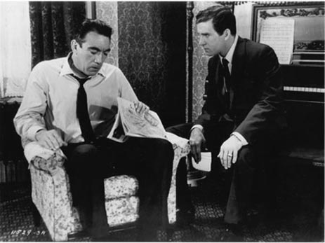 The Black Orchid w/ Anthony Quinn